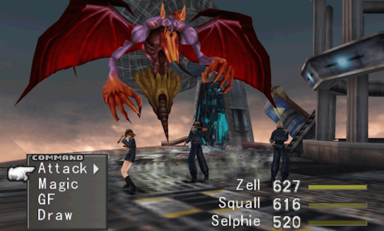 Final Fantasy 8 on PC draws more game boosters from update