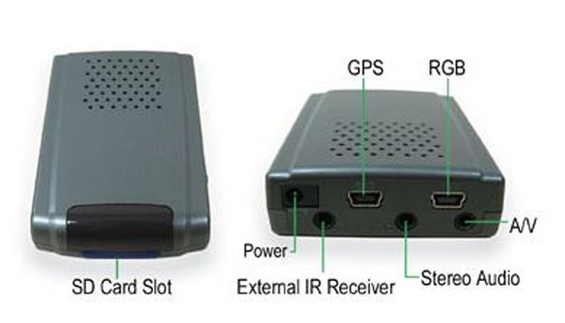 Dotel's Navi Box brings GPS to your in-car A / V system