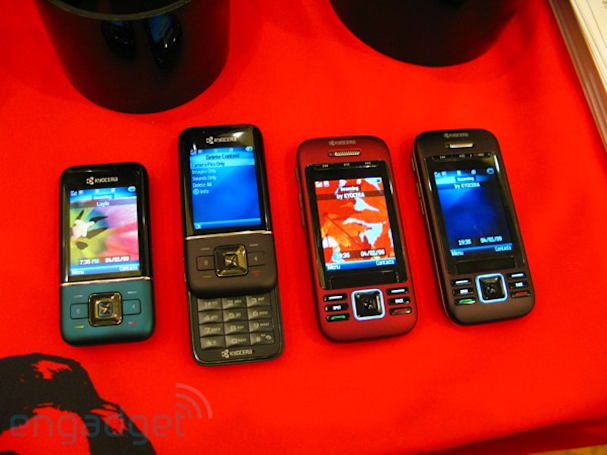 Kyocera G2GO and Laylo hands-on