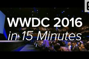 WWDC 2016 Keynote in 15 Minutes