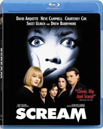Scream movies are coming to Blu-ray March 29
