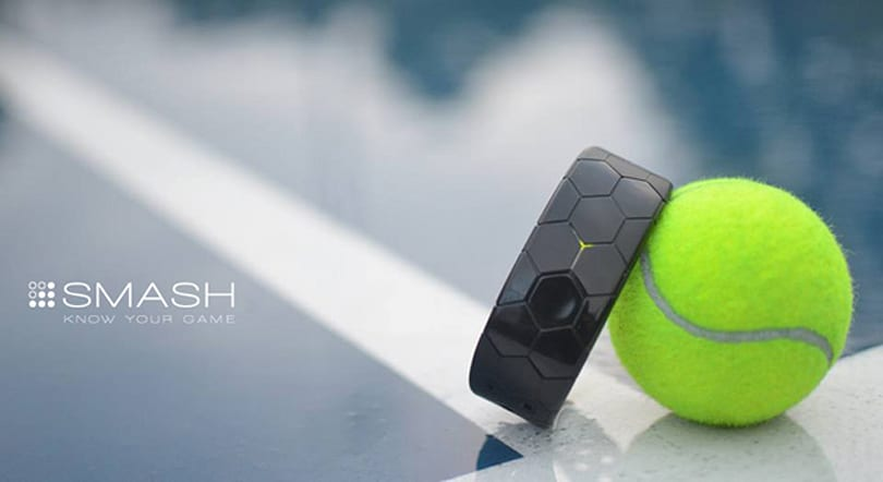 Smash's new wristband helps perfect your tennis swing