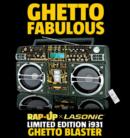 Lasonic and Rap-Up team for the Limited Edition i931 boombox