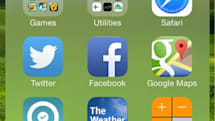 How to create nested folders on iOS 7