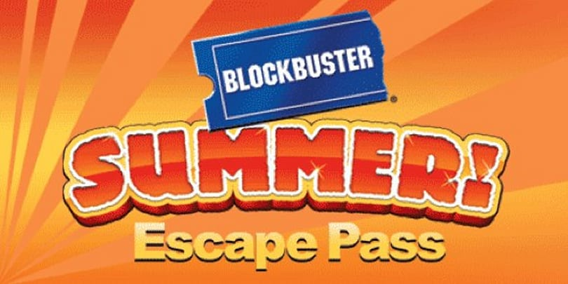 Blockbuster 'summer escape pass' allows unlimited rentals for $10/week
