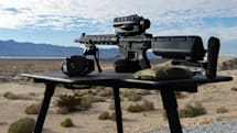 Shooting a laser-guided rifle made me feel like a robot