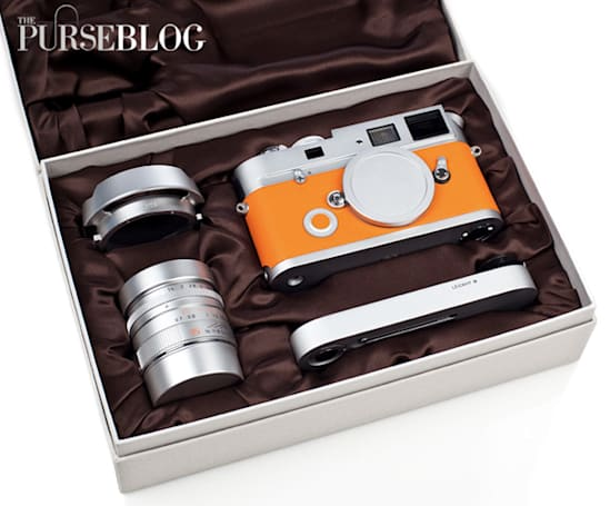 Leica M7 Hermes unboxed, photographed, then promptly re-boxed