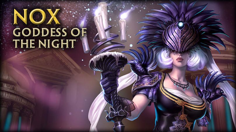 SMITE reveals Nox, Goddess of the Night, just in time for Halloween