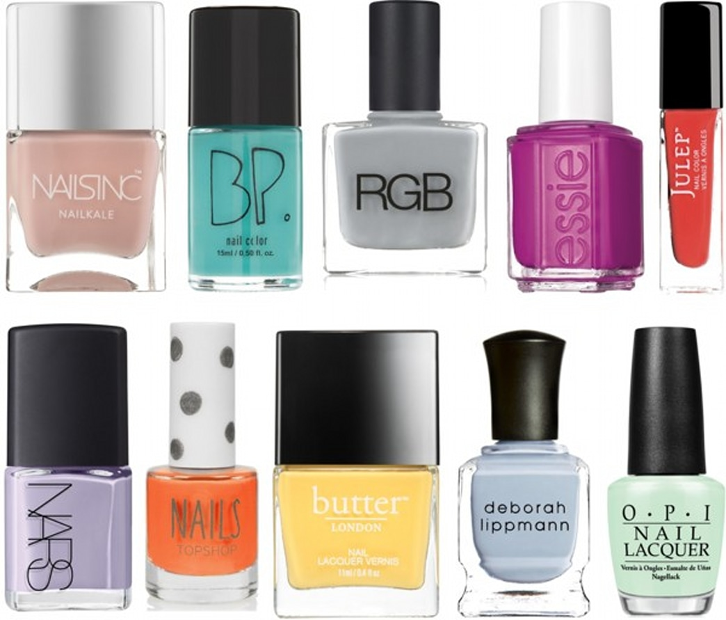 A few of our favorite spring nail polishes