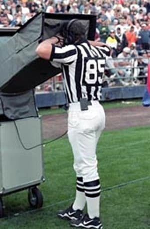 College football refs get a taste of HD instant replay tomorrow