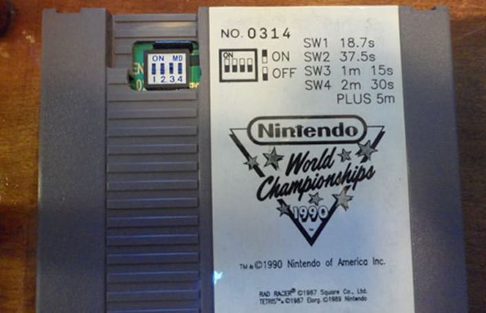 NES World Championship cart auction ignites sales rush