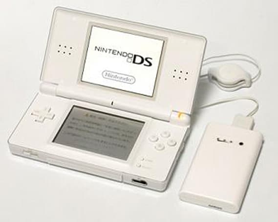 """""""Mobile Battery Slim"""" DS Lite battery charger"""