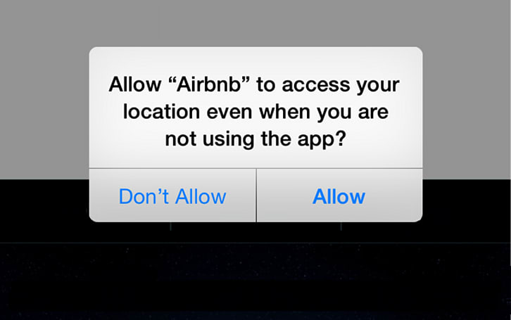 iOS 8's privacy notification not sitting well with some developers