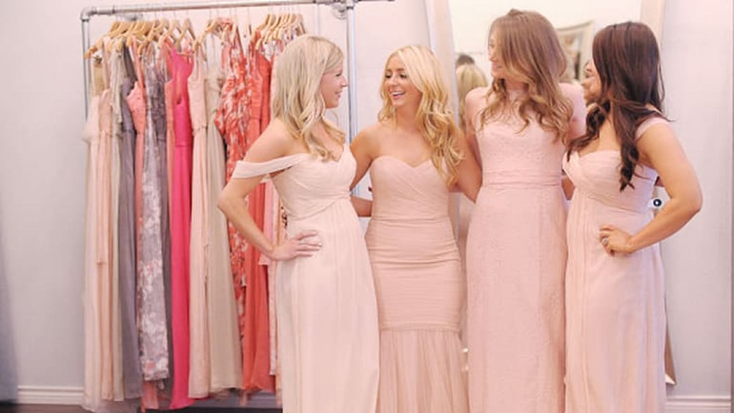 How to style your bridesmaids' dresses