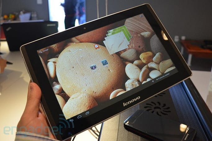Lenovo LePad K2010 (IdeaTab K2) hands-on: 1.7GHz Tegra 3, full HD IPS display (updated)