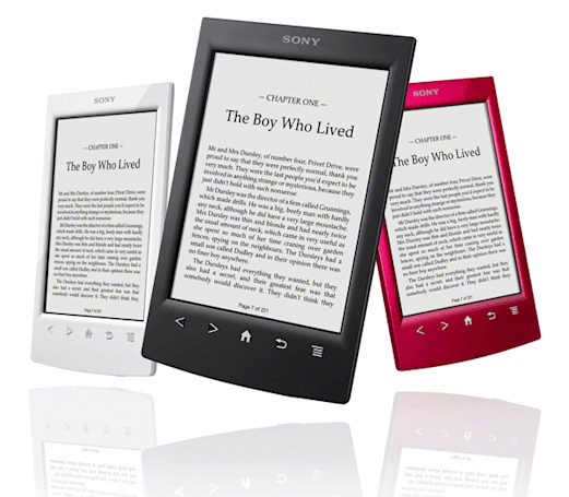 Sony Reader gets a new design, Evernote integration and a free Harry Potter book for $129
