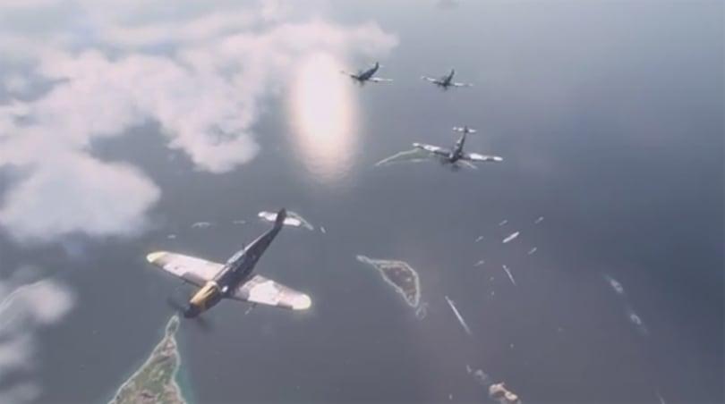 World of Warplanes' latest Flight School video talks team play