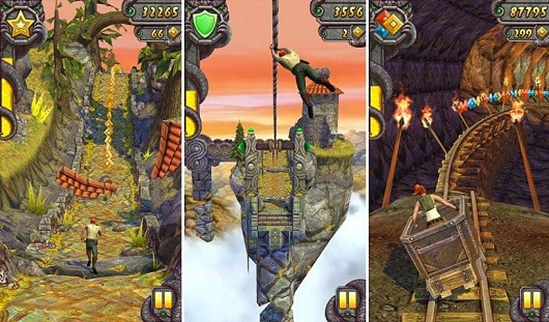 Temple Run 2 downloaded 20 million times over weekend