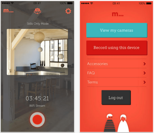 Manything turns any iOS device into a home video monitoring system