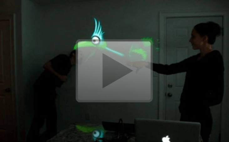 Video: Kinect repurposed for puppetry