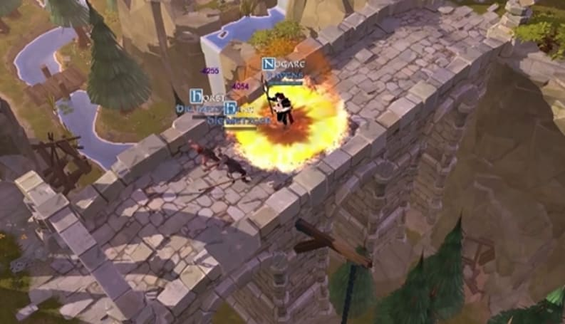Albion Online trailer shows the dire consequences of wardrobe selection