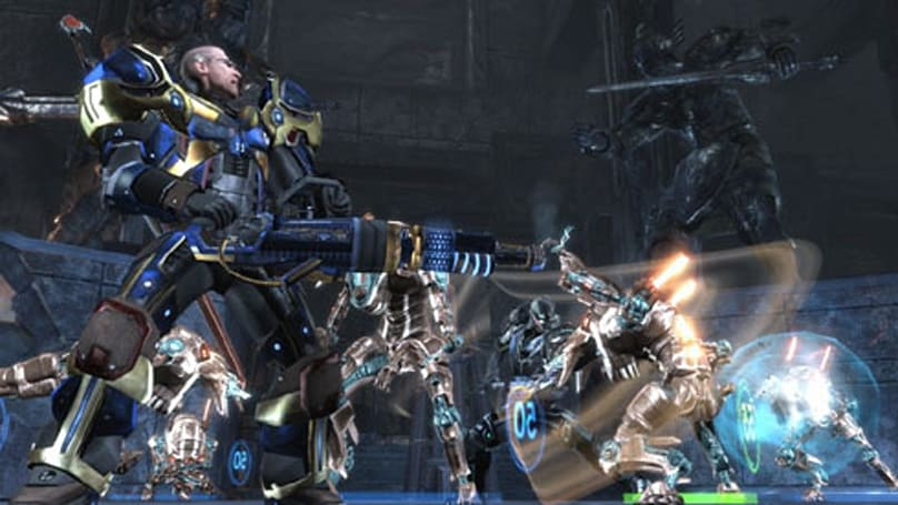 Too Human video serves up co-op 'serving'
