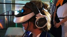 Sony's HMZ-T2 3D headset at TGS: gaming at close range (video)