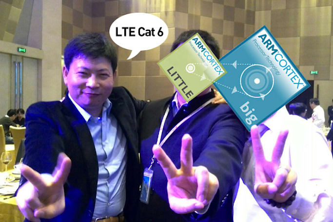Huawei's first octa-core chip promises faster LTE than its rivals