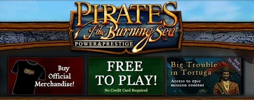 Pirates of the Burning Sea completes transition to free-to-play