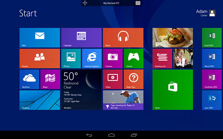 Microsoft Remote Desktop apps for Android and iOS allow mobile access to stationary PCs