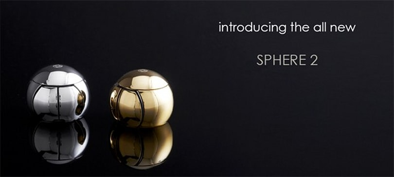 SPHERE 2 mouse turns the premium dial up to platinum, can hide in perfumeries