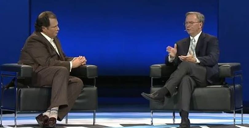 Eric Schmidt: 'Android will be bigger than iOS'