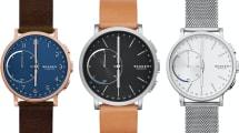 Skagen kündigt erste Smartwatch an