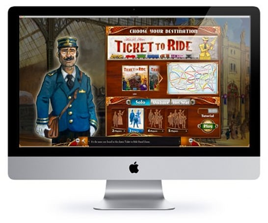 Ticket to Ride coming to the Mac