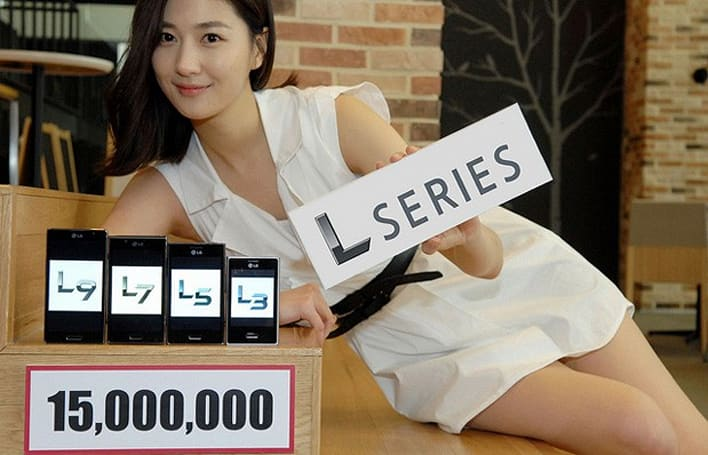 LG touts 15 million Optimus L Series phones sold like so many refrigerators