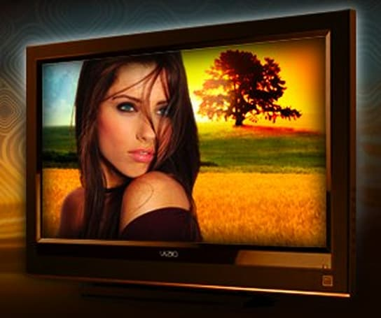 Vizio emerges from the tanning bed with copper-toned LCDs