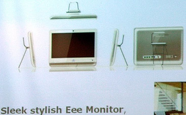 ASUS intros the Eee Monitor all-in-one PC, says more Eee models on the way