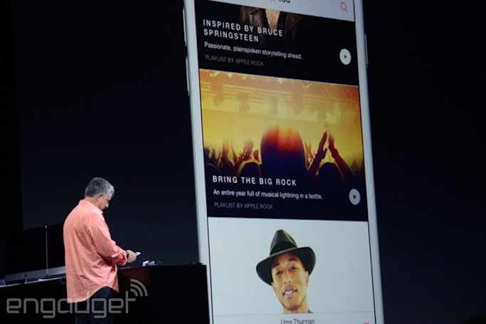 Apple Music launches June 30th, comes to Android this fall