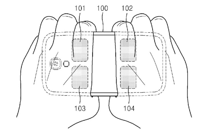 Samsung explores measuring body fat through your phone