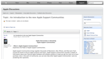 Apple Discussion Boards to receive major overhaul