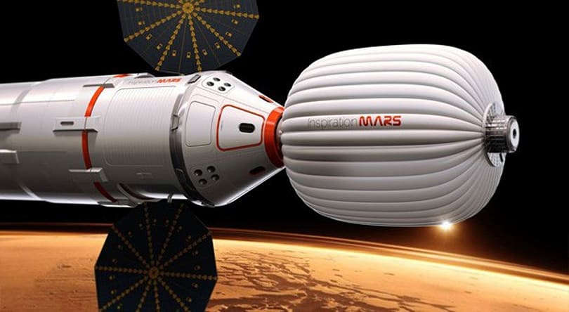 Inspiration Mars ship using human waste as a radiation shield: no really, it's fine