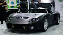 Capstone's CMT-380 hybrid supercar does 150MPH with batteries and a jet engine