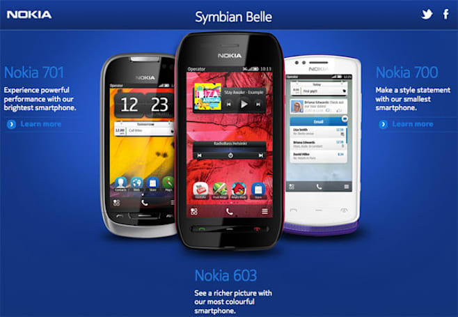 Belle to make a pass at Symbian handsets early in 2012, Anna pretends to look the other way