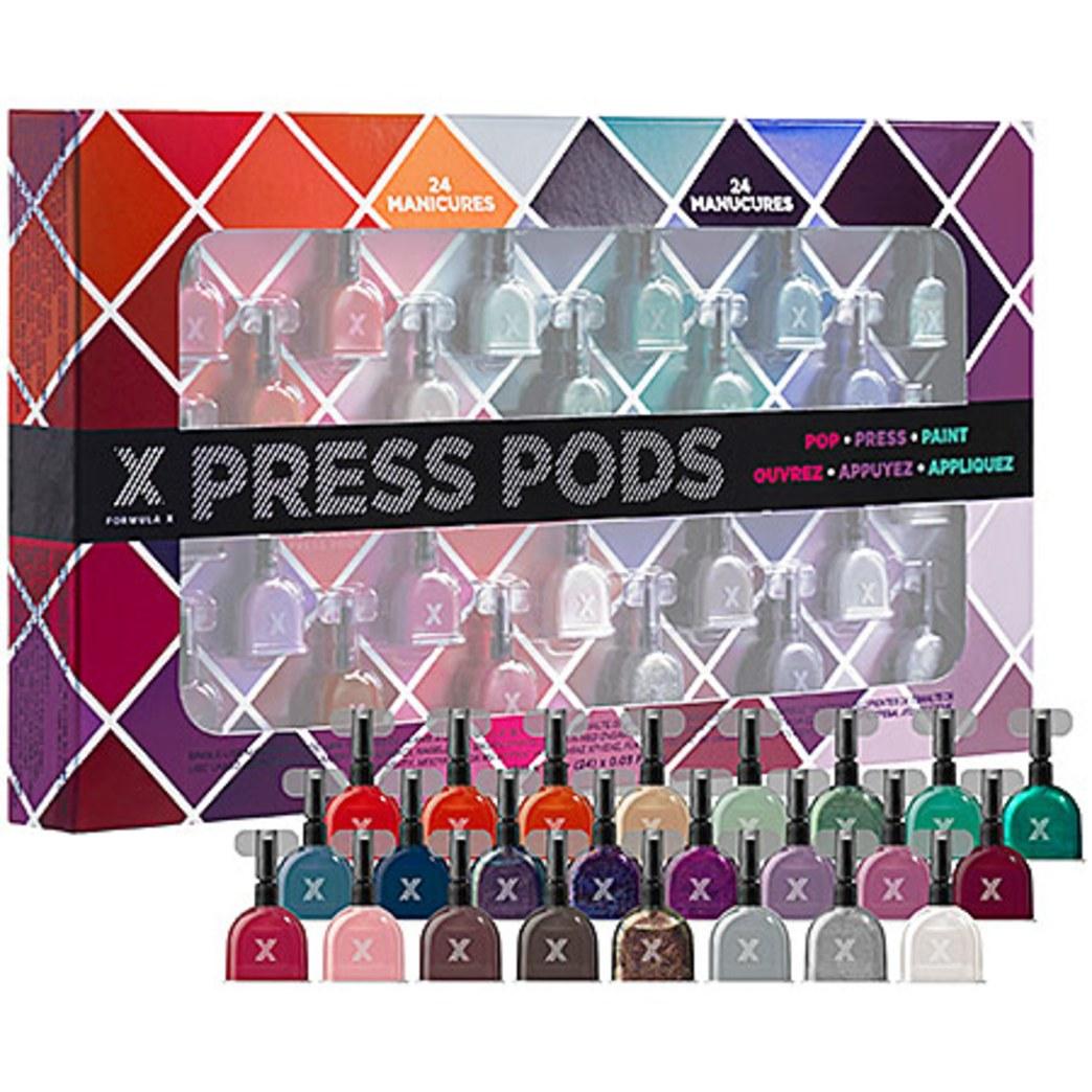 Giveaway: Sephora Formula X Press Pods