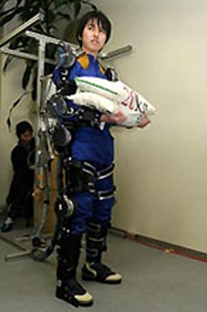 Wearable farming robot suit takes the load off