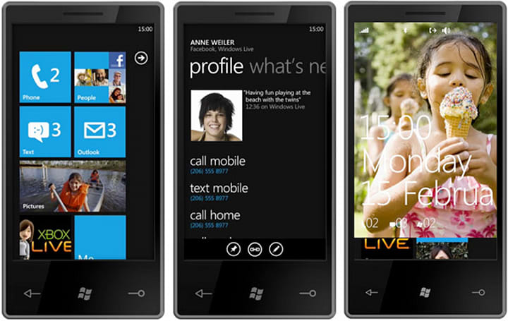 Windows Phone 7 Series getting one chassis spec at launch, two more in the pipe?