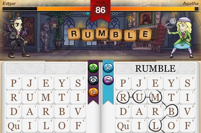 Writer Rumble is first title from GameFly Games, available now on iOS