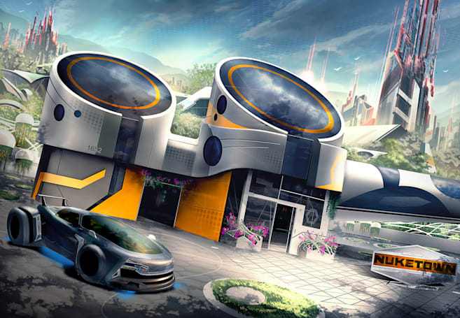 There goes the neighborhood: 'Black Ops 3' brings back Nuk3town