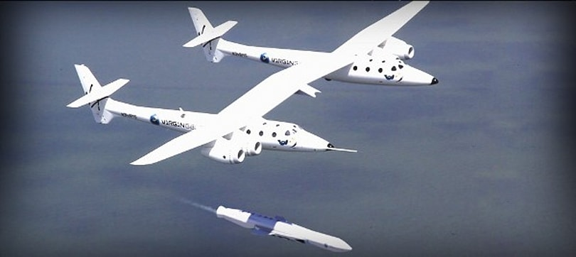 Virgin Galactic unveils LauncherOne satellite vehicle