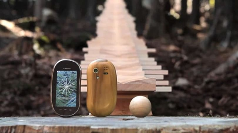 Mesmerizing Touch Wood SH-08C ad showcases Japan's beauty, mankind's ingenuity (video)